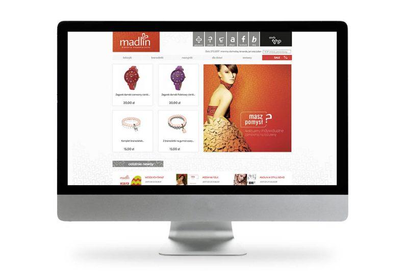 Strona internetowa Madlin